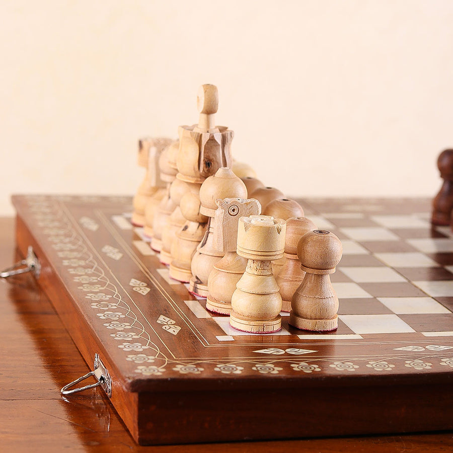 Chess Wooden Set - TCS Sentiments Express