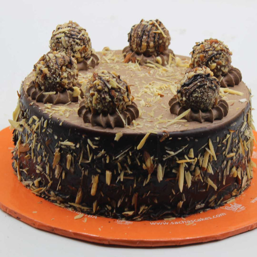 Chocolate Almond Truffle Cake