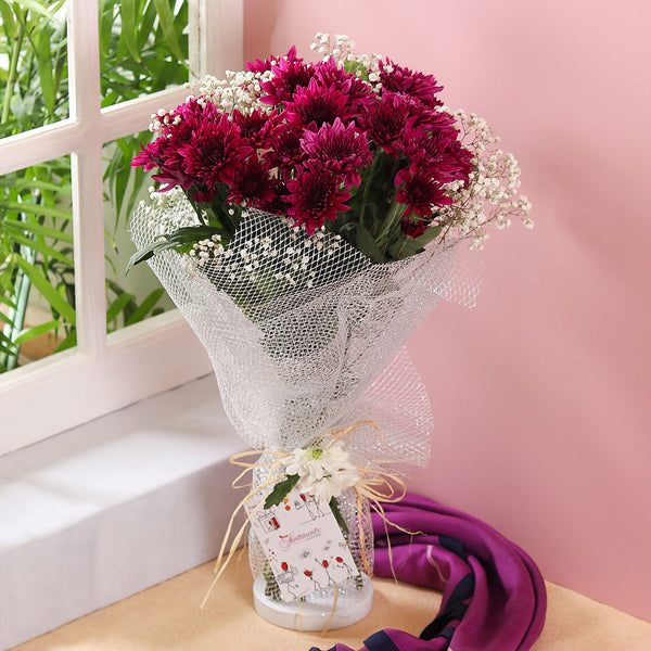 Passionate Purple Bouquet
