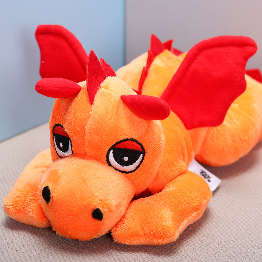 Orange Dragon Plush - TCS Sentiments Express