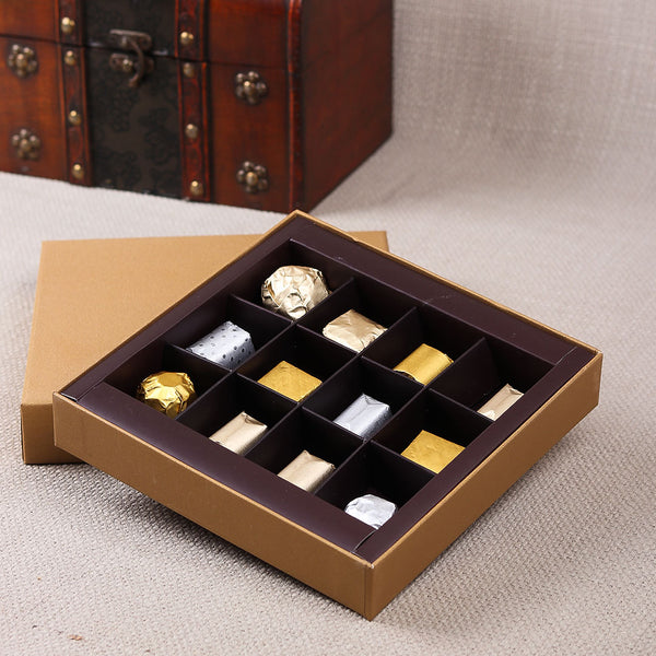GOLD CHOCOLATE BOX BY LALS - TCS Sentiments Express