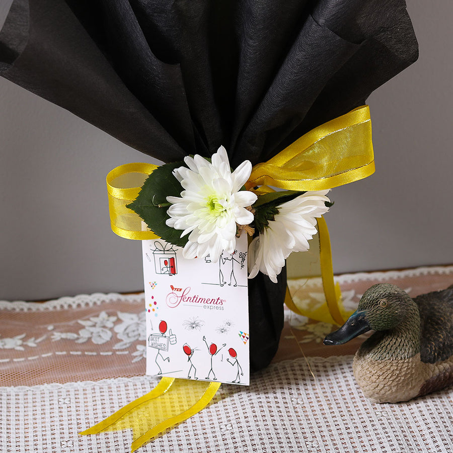Yellow Moon Bouquet - TCS Sentiments Express
