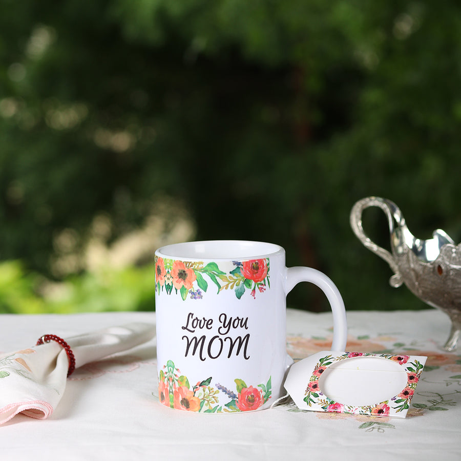 Love You Mom Mug - TCS Sentiments Express