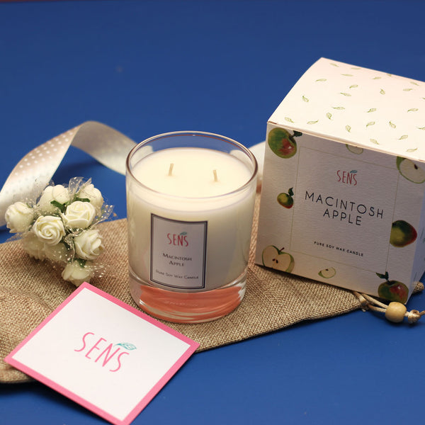 SENS Candle - Macintosh Apple