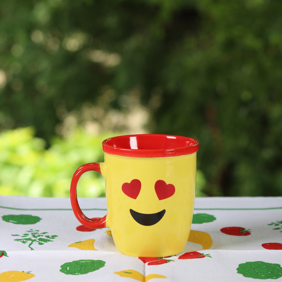 Heart Eyes Emoji Mug - TCS Sentiments Express