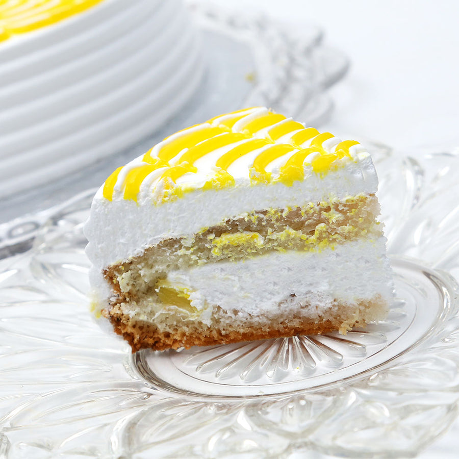 Pineapple Marble Cream Cake 2LB - TCS Sentiments Express