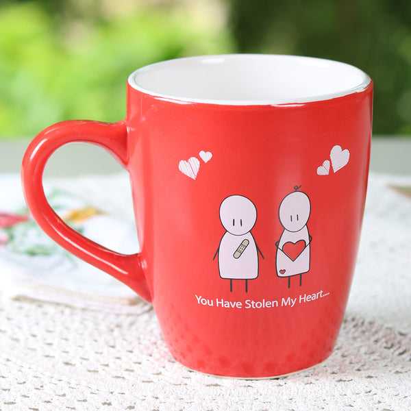 You have stolen my heart Mug - TCS Sentiments Express