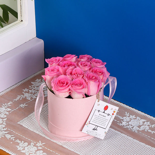 Pink Rose Box - TCS Sentiments Express