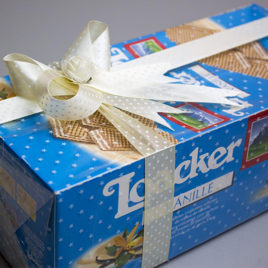 Boxes of Loacker Wafers Vanilla
