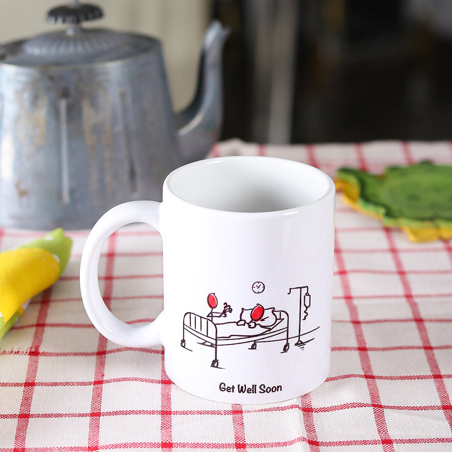 Get Well Soon Mug - TCS Sentiments Express