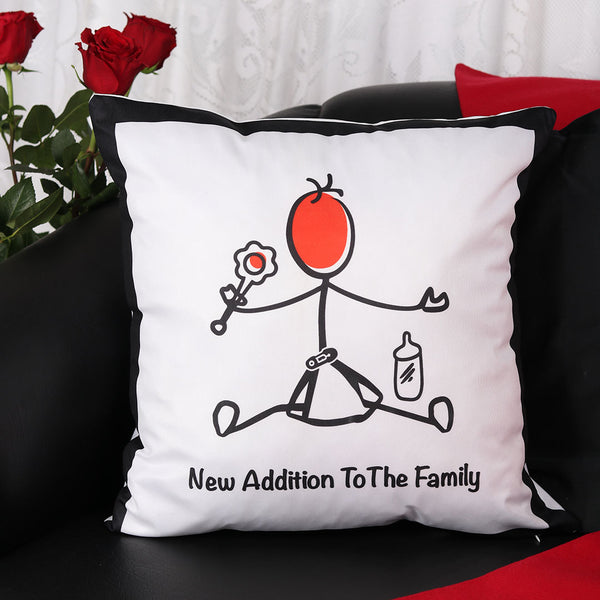 New Addition Cushion - TCS Sentiments Express