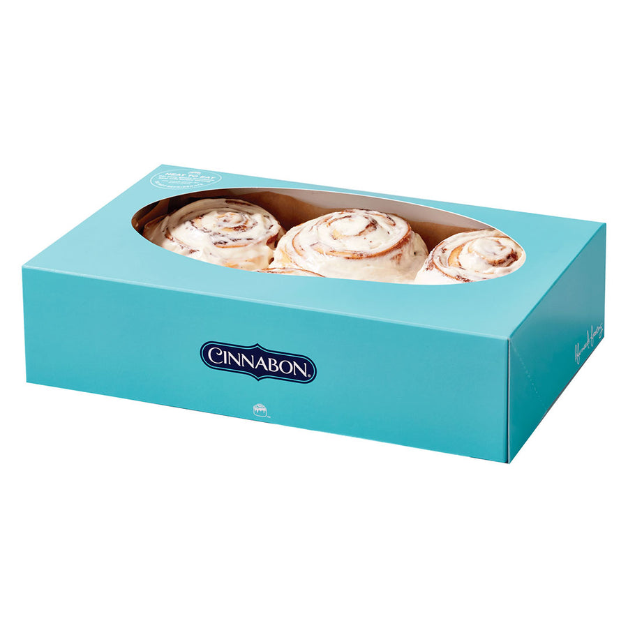 CinnaPack Combo - 6 PCS. BOX By Cinnabon - TCS Sentiments Express