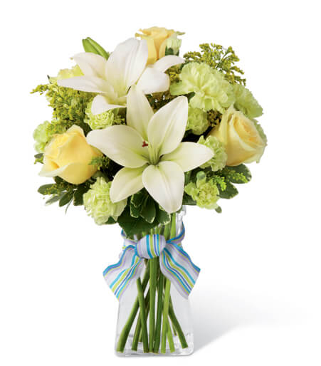 The Boy-Oh-Boy Bouquet - TCS Sentiments Express