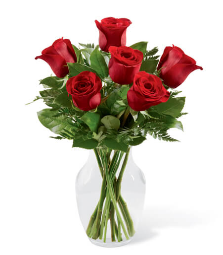The Simply Enchanting Rose Bouquet - TCS Sentiments Express