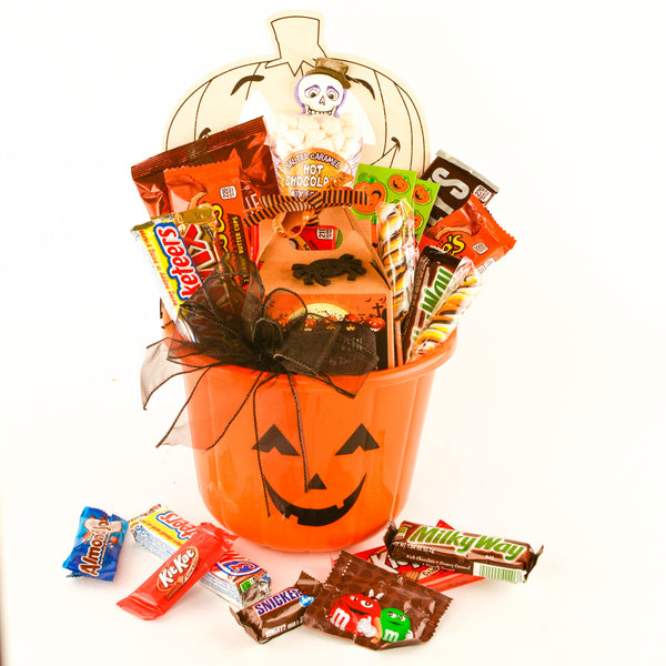 Happy Halloween Bucket - TCS Sentiments Express