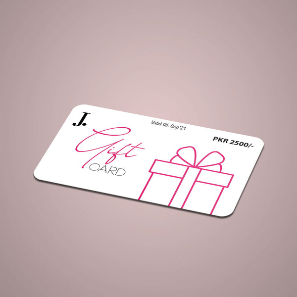 Gift Card by J.