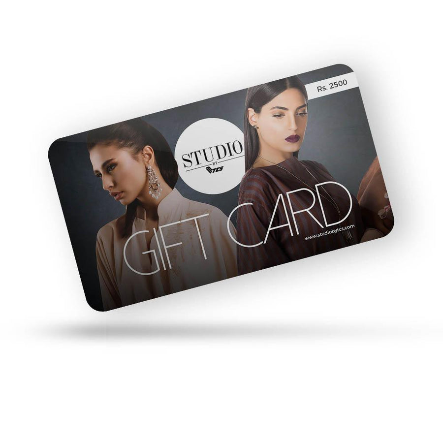 Studio by TCS - Gift Card - TCS Sentiments Express