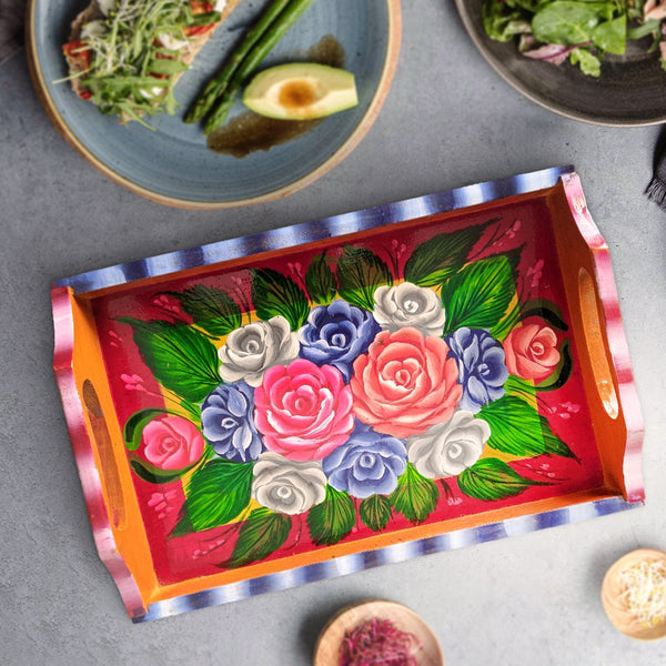 Wooden Flower Tray