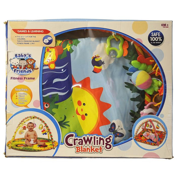 Blanket crowling baby gift set - TCS Sentiments Express