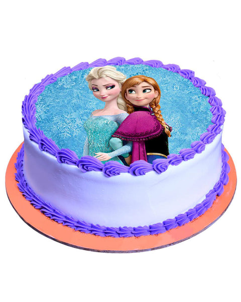 Elsa and Anna Cake 3lbs - TCS Sentiments Express