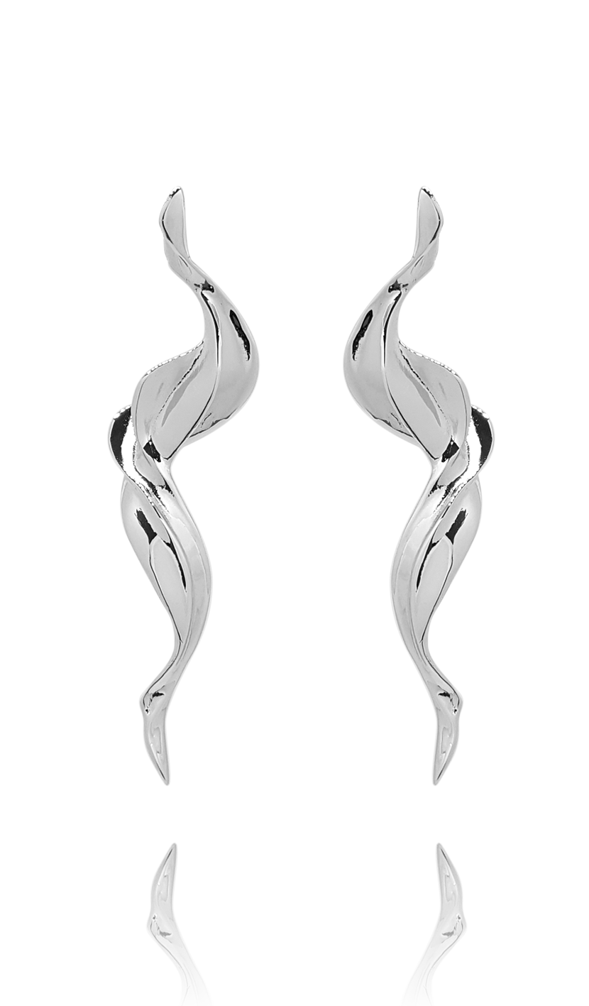 earring_flame_silver_white_gold_jewelry