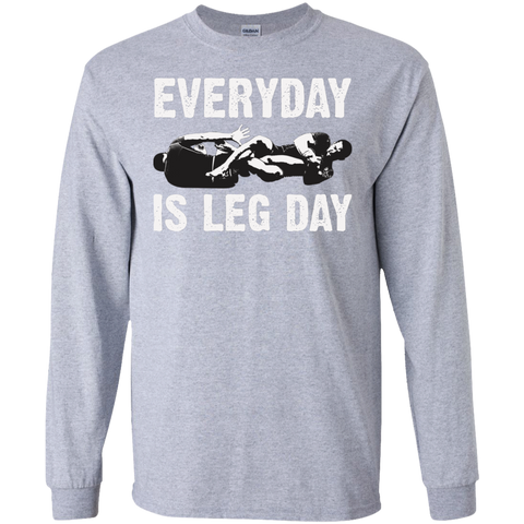 Everyday Is Leg Day Long Sleeve T-Shirt