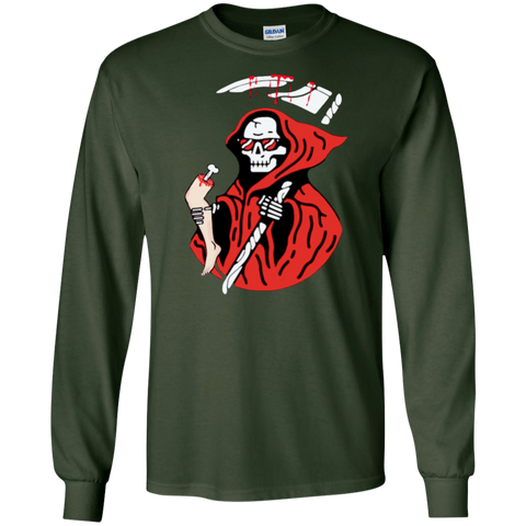 Grim Reaper Logo Long Sleeve T-Shirt