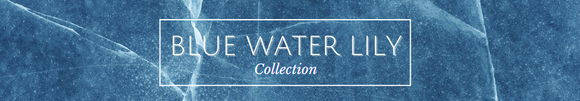 blue water lily collection