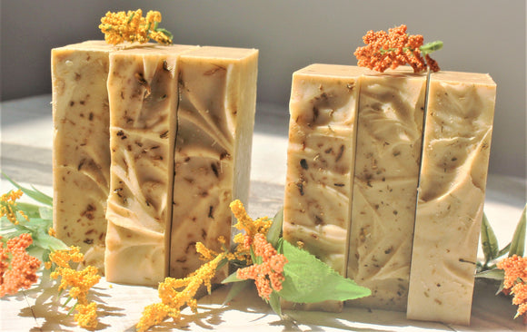 Natural Sunflower Soap Bar