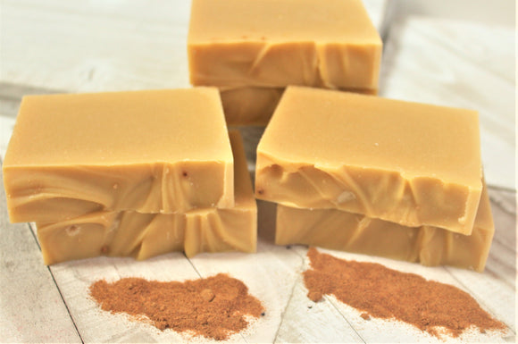 Natural Carrot Soap Bar | Over Soaped Bath & Body Boutique
