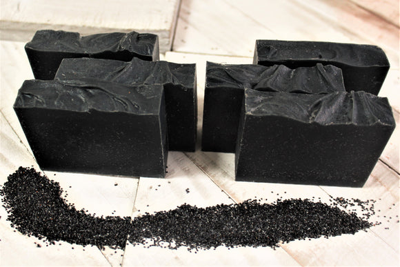 Natural Black Soap Bar