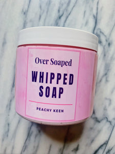 Peachy Keen Whipped Soap