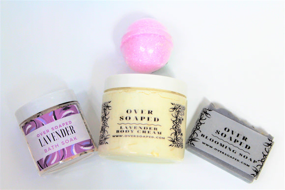 Lavender bath collection