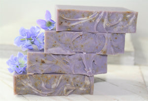 Natural Passion Flower Soap Bar