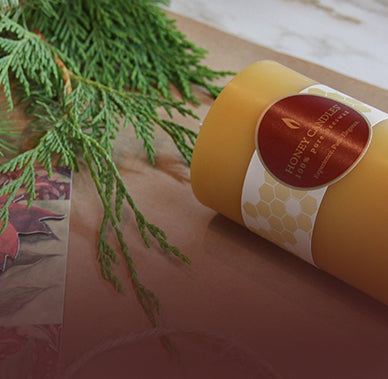 Delight the conscious consumer on your list with Honey Candles