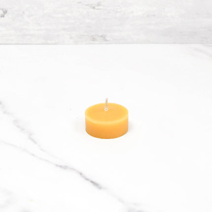 Natural Tealight Refill Without Cup Beeswax Candles