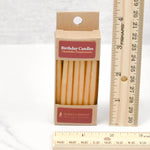 Birthday Natural Beeswax Candles