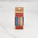 Birthday Pastel Beeswax Candles