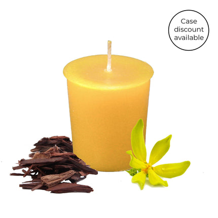 Essential Votive Evening Bloom Beeswax Candle