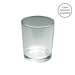Clear Glass Votive Cups