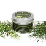 Kootenay Forest Essential Oil Tin Beeswax Candle