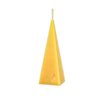 Pyramid candle pure beeswax
