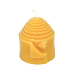 Adorable 100% beeswax peek-a-bee candle