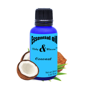 Coconut aromatherapy essential oils