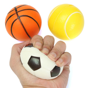 Stress Relief Squeeze Tennis Ball/Basketball/Football