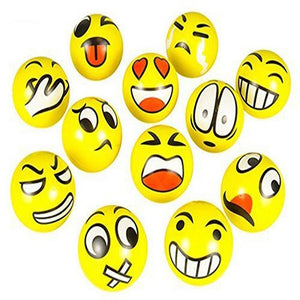 Funny Emoji Faces Squeeze Anti Stress Ball