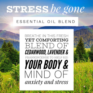 Anxiety Relief Essential Oil Blend, Stress Relief Essential Oil Blend, Therapeutic Essential Oil Blend