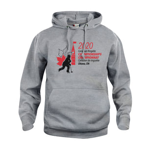 Unisex Hooded Sweatshirt Grey - Big Logo