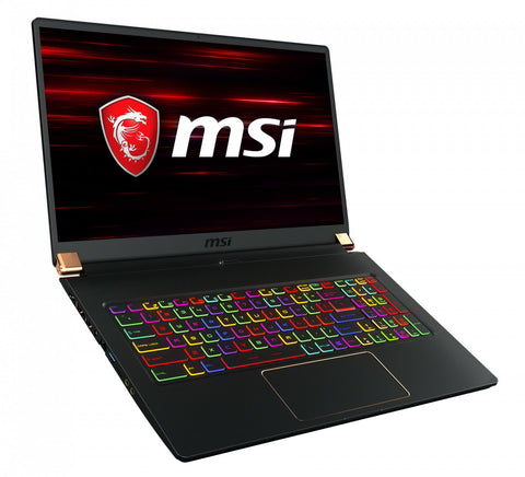 "MSI GS75 Stealth 9SG-1066UK i9-9880H Eight Core 32Gb 1Tb SSD RTX 2080 17.3"" W10P"