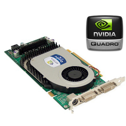 HP nVidia Quadro FX3400 256Mb PCI-E dual DVI Graphics card 366650-001
